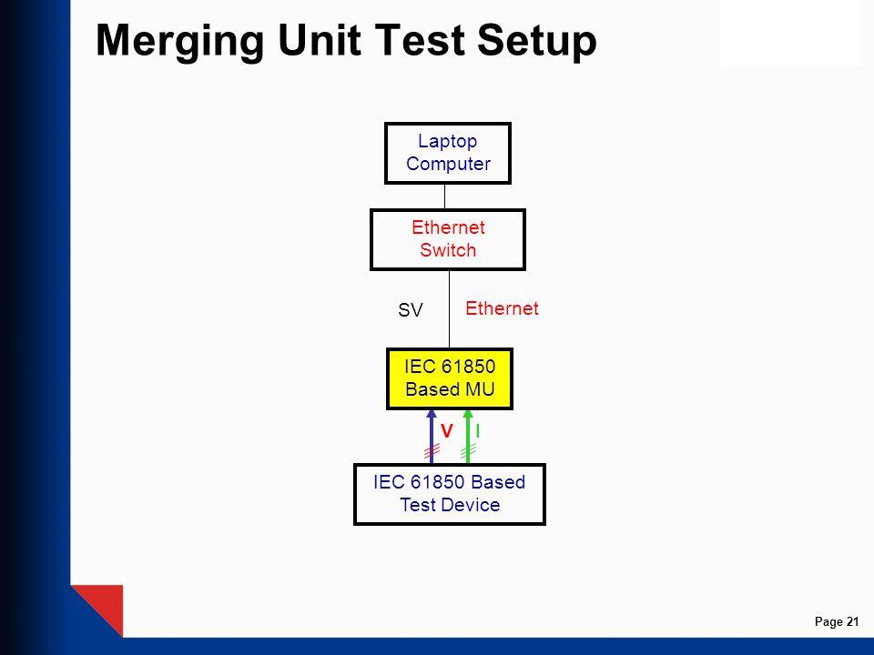 Merging Unit Test Setup