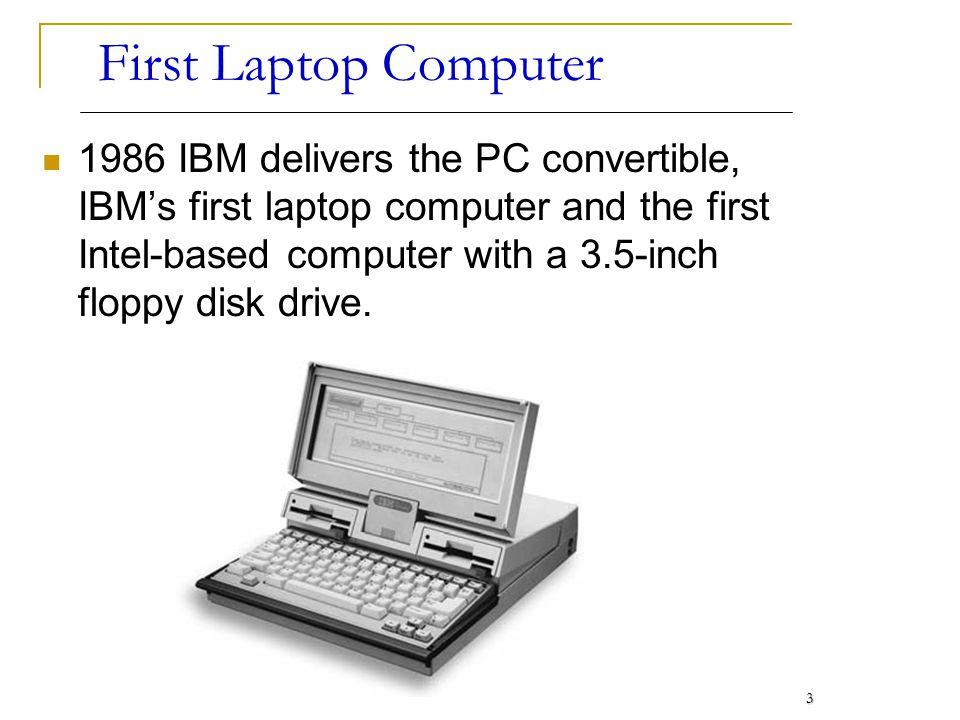First Laptop Computer