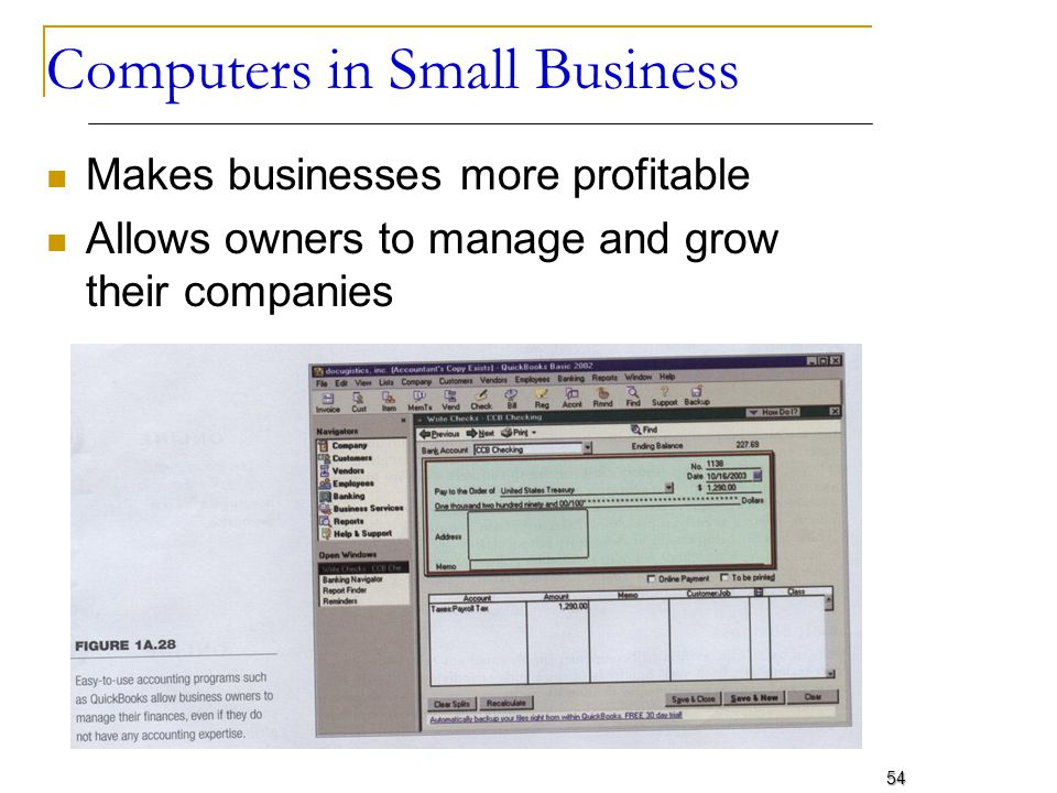 Computers in Small Business