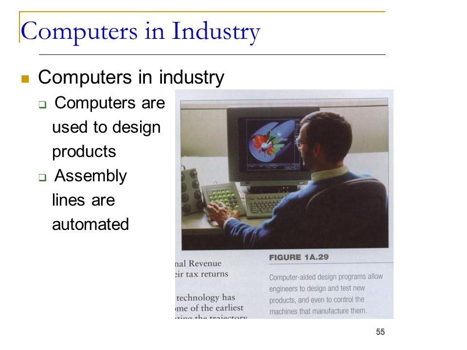 Computers in Industry Computers in industry Computers are