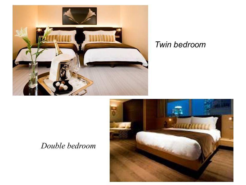 Twin bedroom Double bedroom