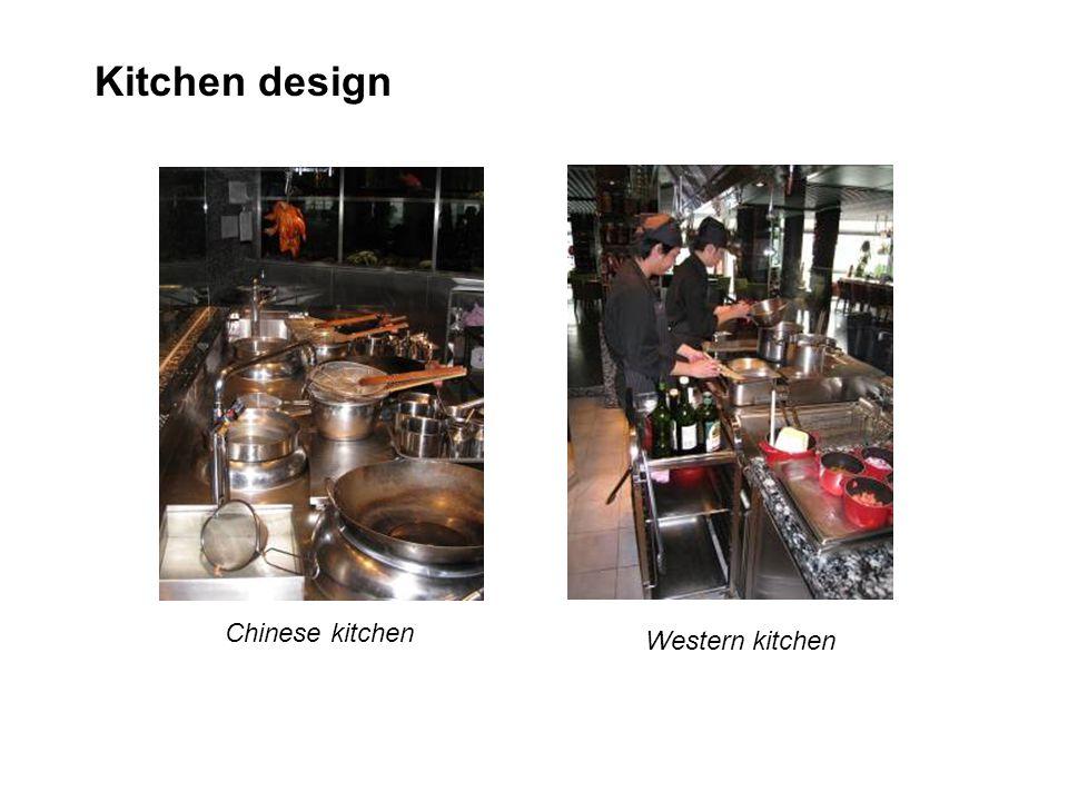 Kitchen design Chinese kitchen Western kitchen