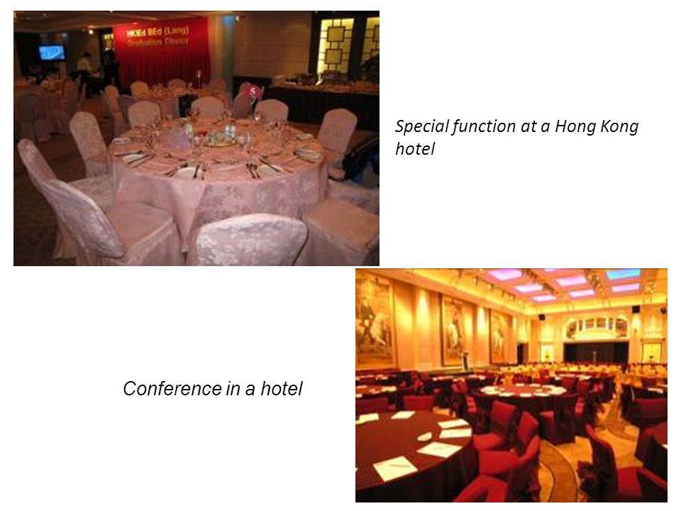 Special function at a Hong Kong hotel