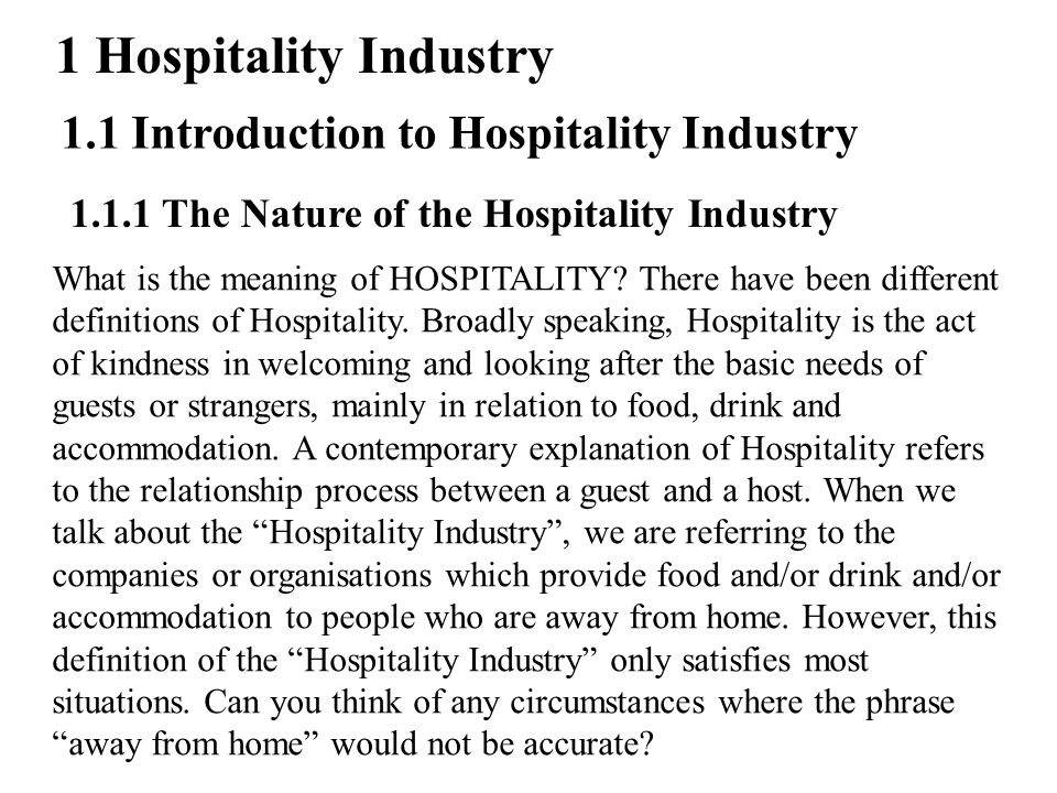 relationship between hospitality industry and event industry Marketing in the tourism and hospitality industry requires an understanding of the   time, topography, season, the environment, amenities, events, and service  providers  the relationship between company, employees, and customers in  the.