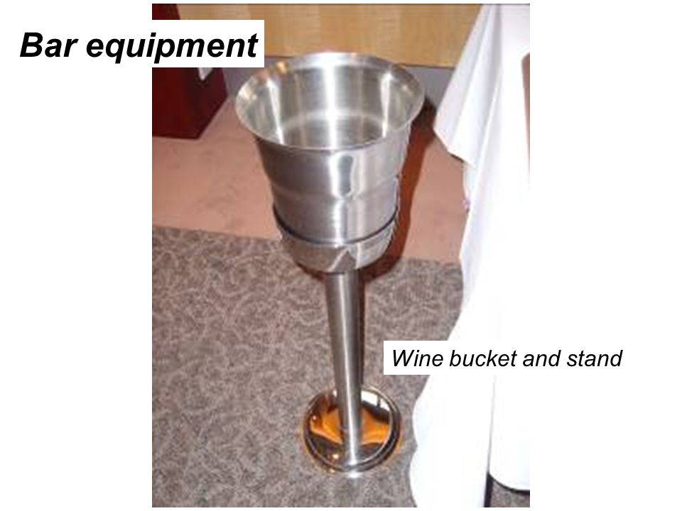 Bar equipment Wine bucket and stand