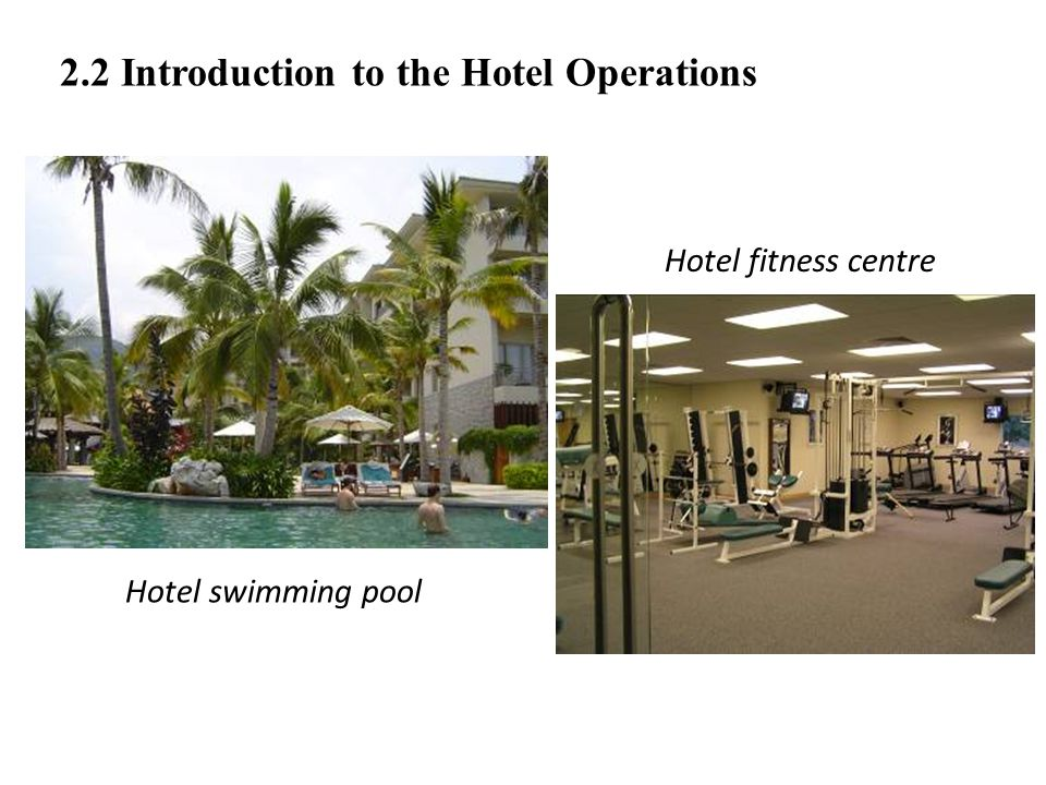2.2 Introduction to the Hotel Operations