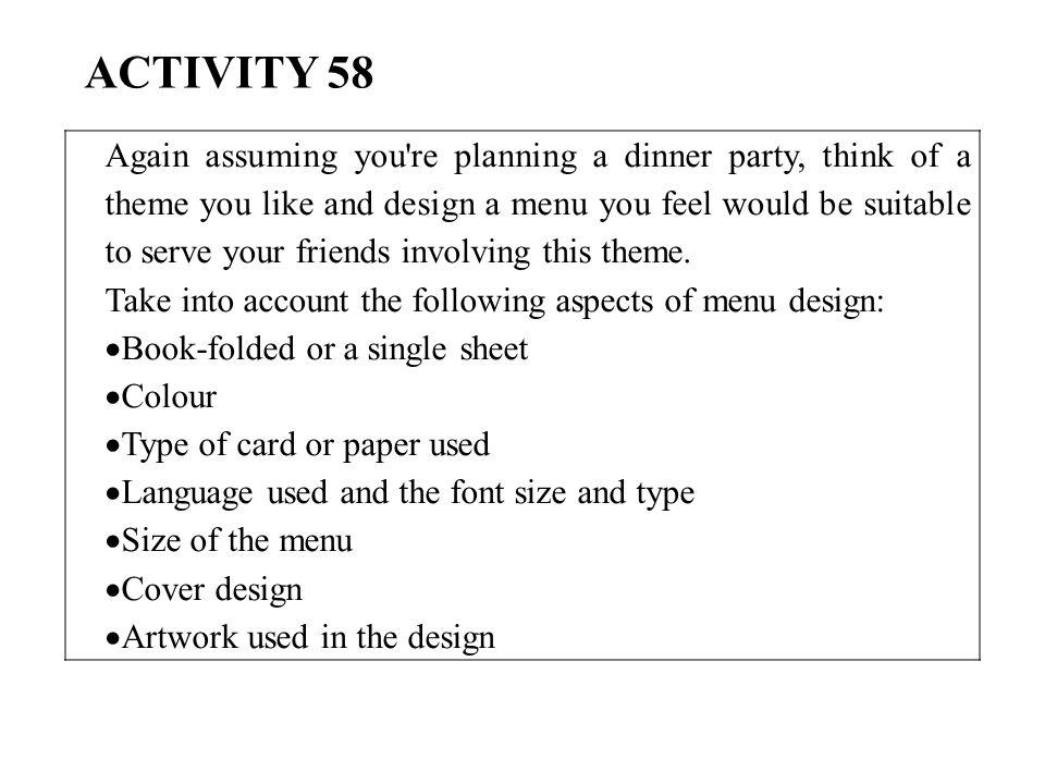 ACTIVITY 58