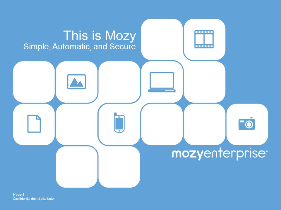 This is Mozy Simple, Automatic, and Secure