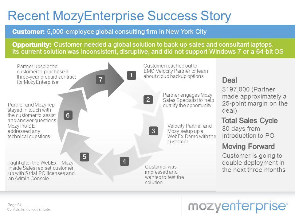 Recent MozyEnterprise Success Story