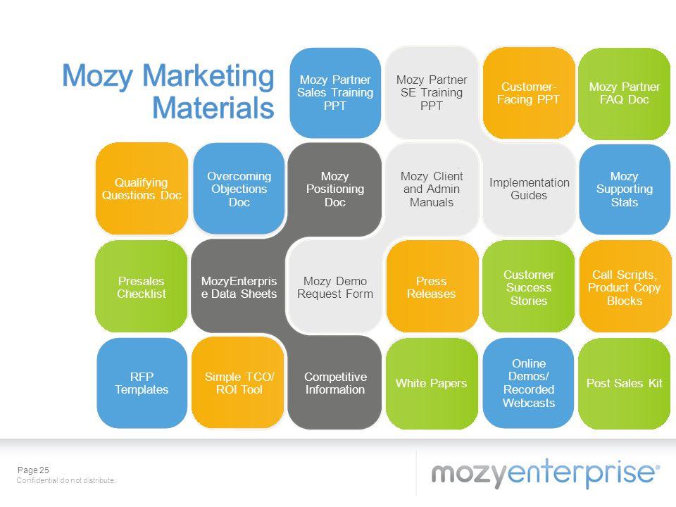 Mozy Marketing Materials