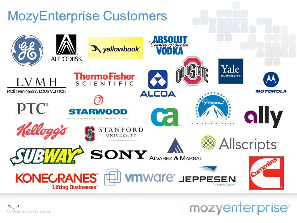 MozyEnterprise Customers