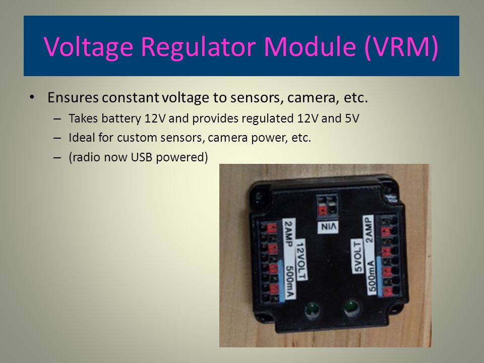 Voltage Regulator Module (VRM)