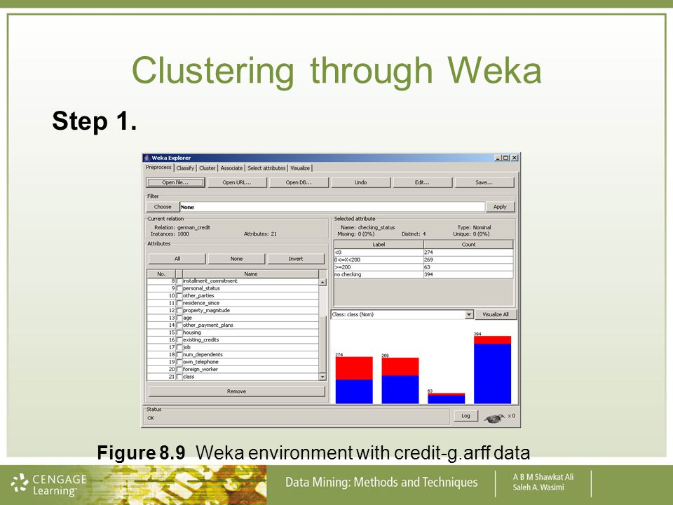 Clustering through Weka