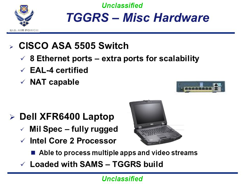TGGRS – Misc Hardware Dell XFR6400 Laptop