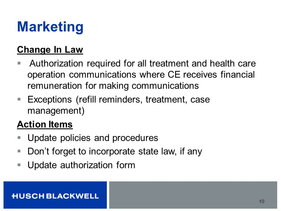 Marketing Change In Law