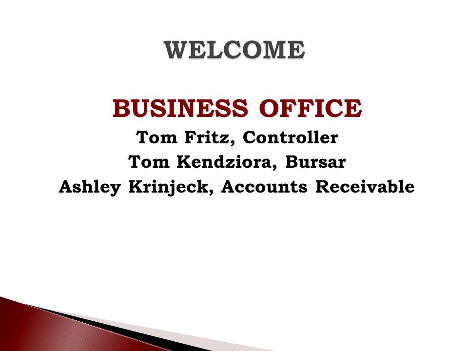 Ashley Krinjeck, Accounts Receivable