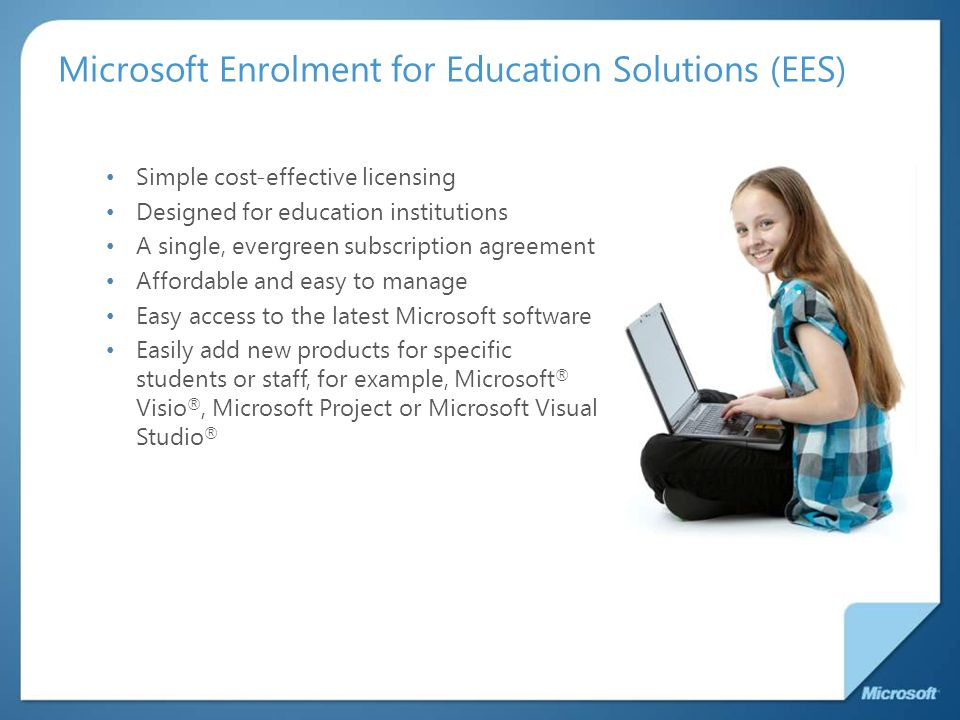 Microsoft Enrolment for Education Solutions (EES)