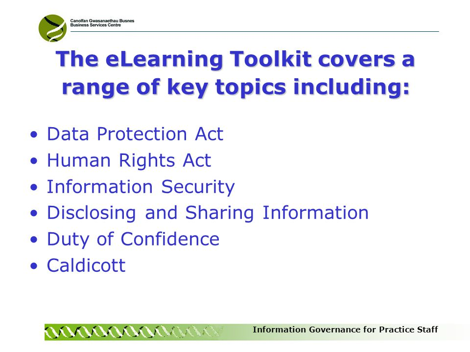 The eLearning Toolkit covers a range of key topics including: