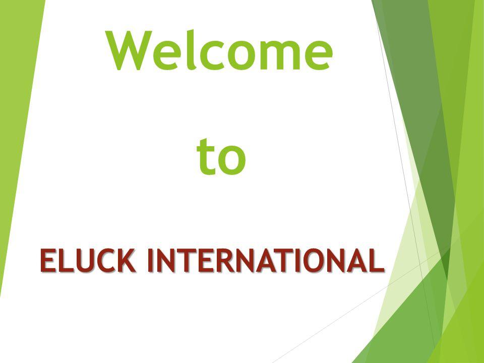 Welcome to ELUCK INTERNATIONAL