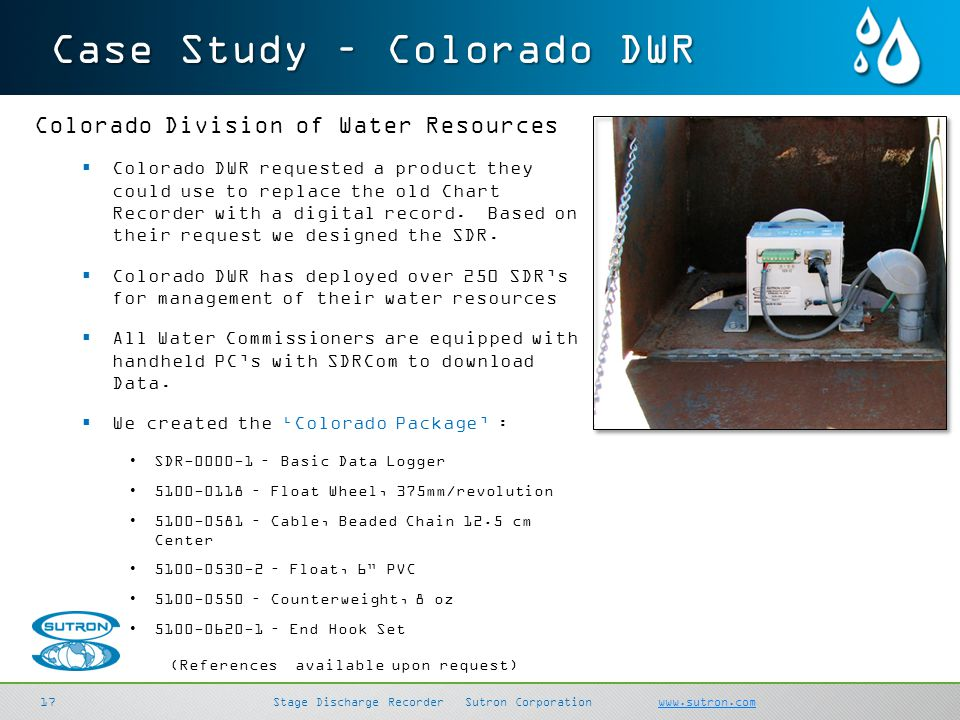 Case Study – Colorado DWR