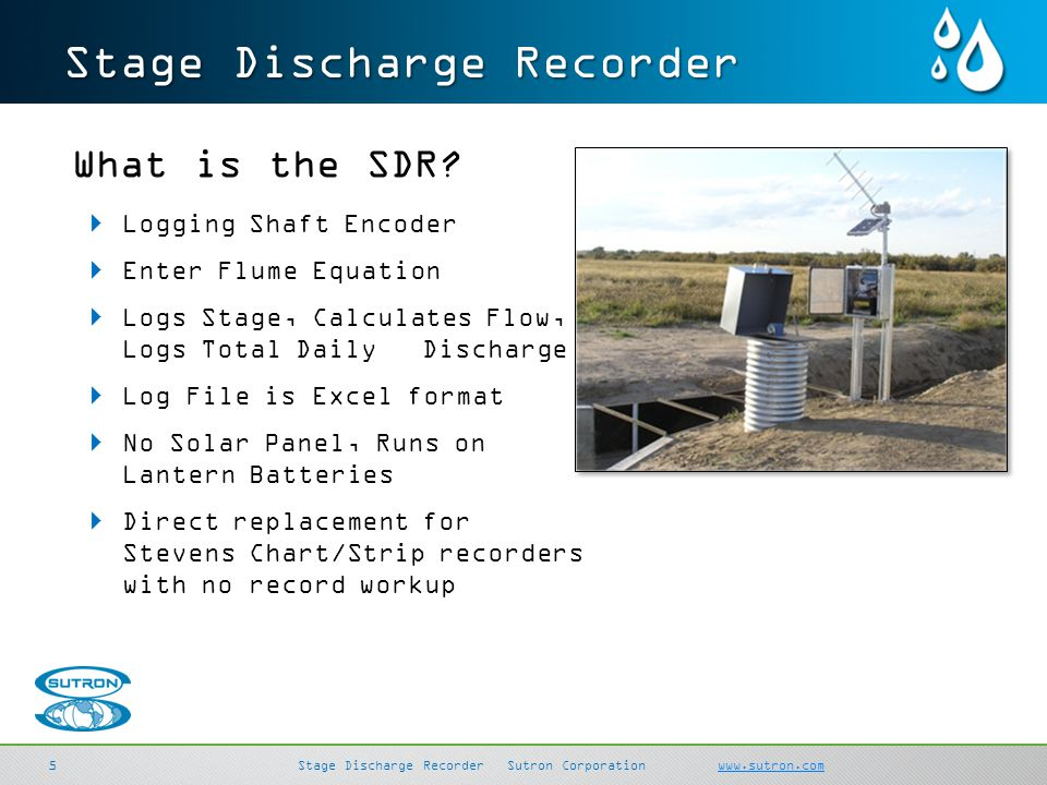 Stage Discharge Recorder