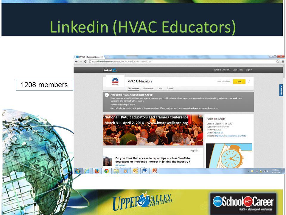 Linkedin (HVAC Educators)