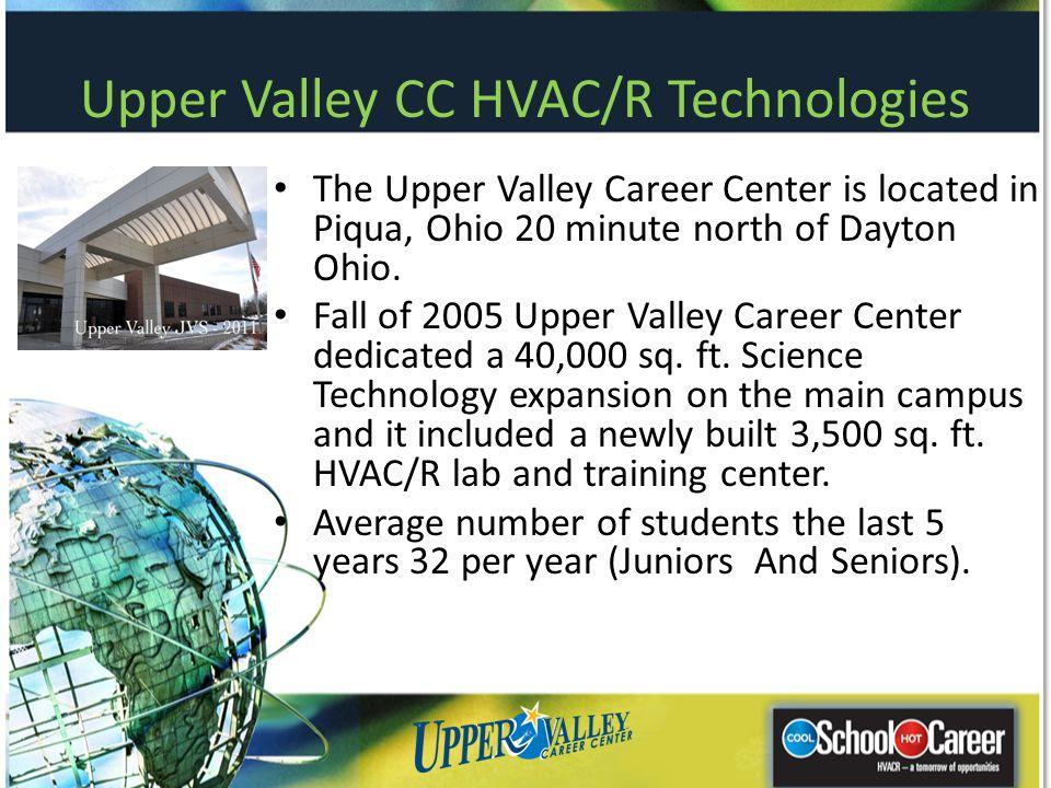 Upper Valley CC HVAC/R Technologies