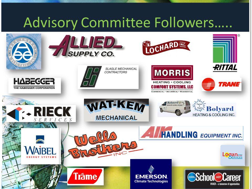 Advisory Committee Followers…..