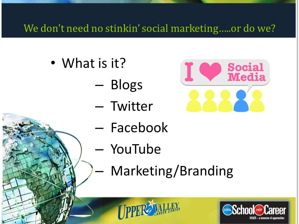 We don't need no stinkin' social marketing…..or do we