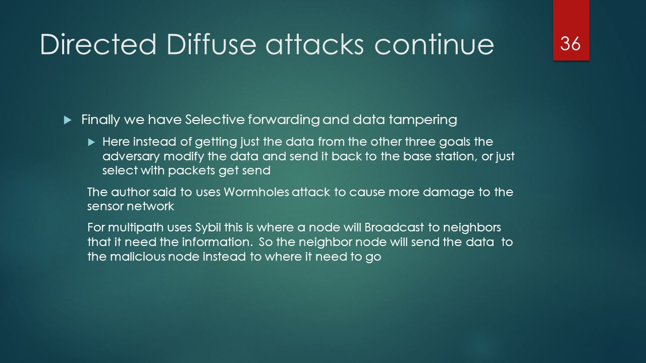 Directed Diffuse attacks continue