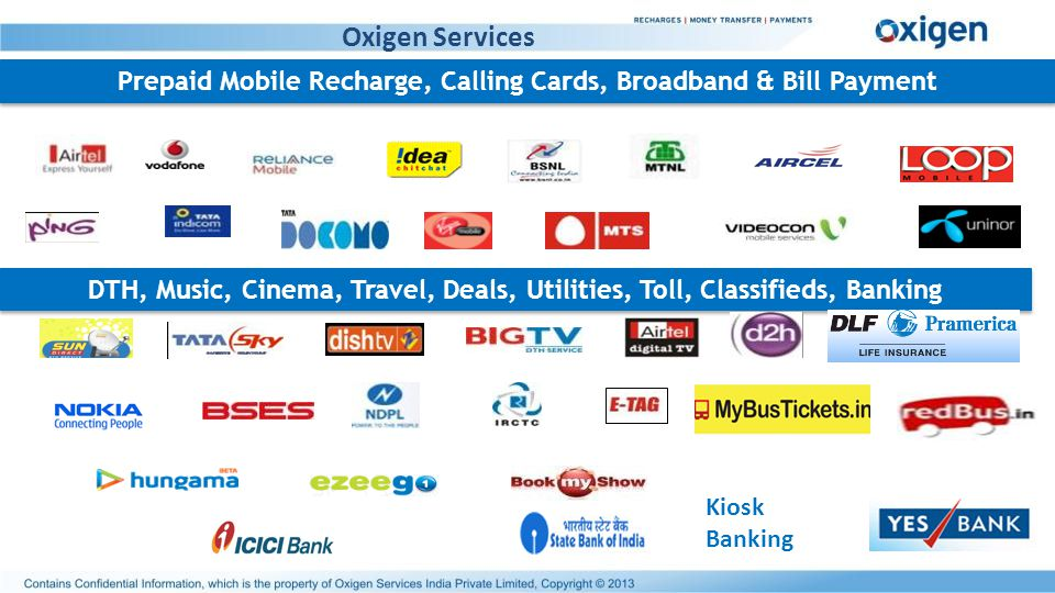 Prepaid Mobile Recharge, Calling Cards, Broadband & Bill Payment