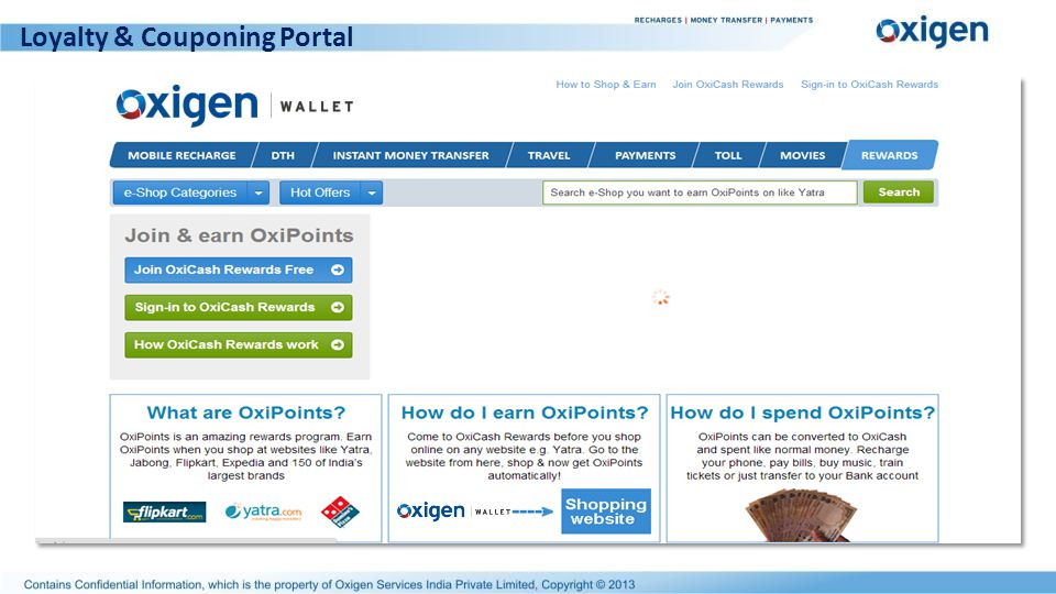 Loyalty & Couponing Portal