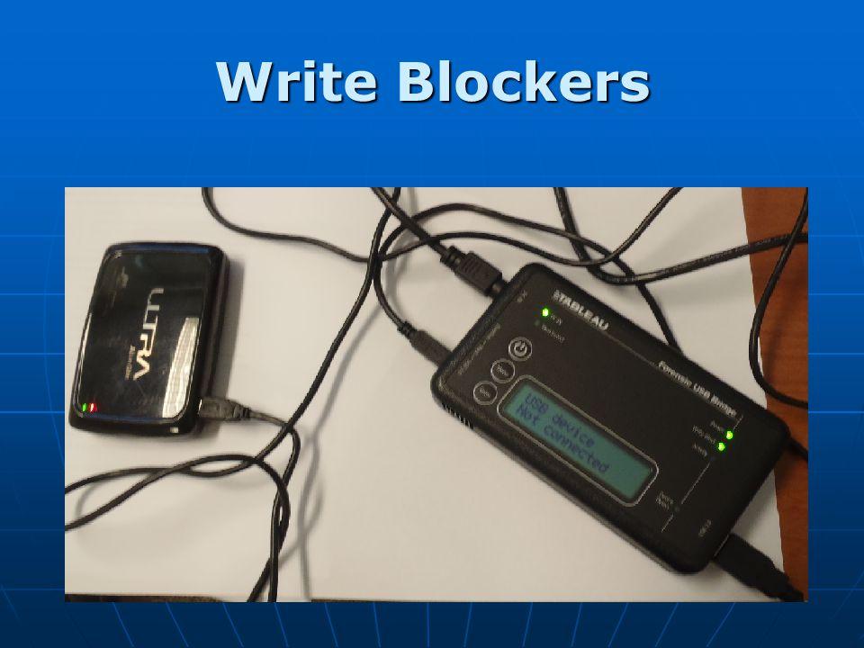 Write Blockers