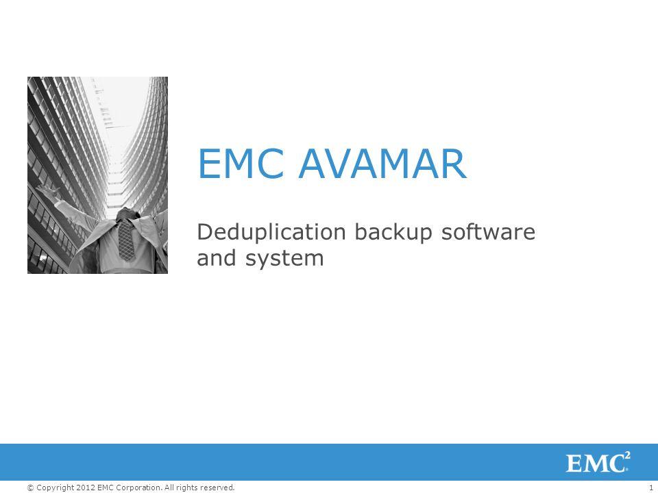 Deduplication backup software and system