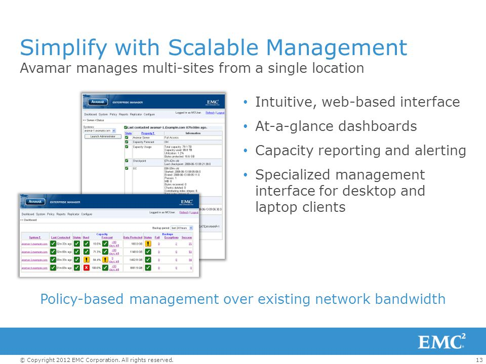 Simplify with Scalable Management