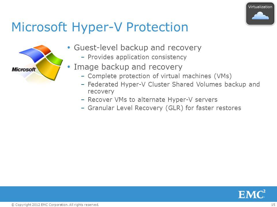 Microsoft Hyper-V Protection
