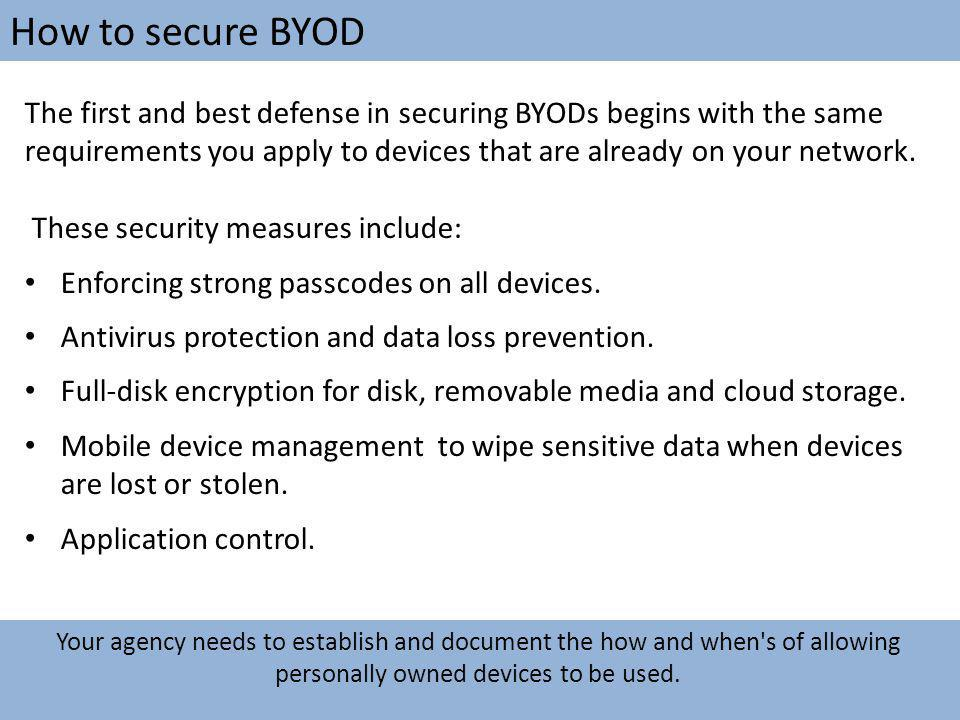 How to secure BYOD
