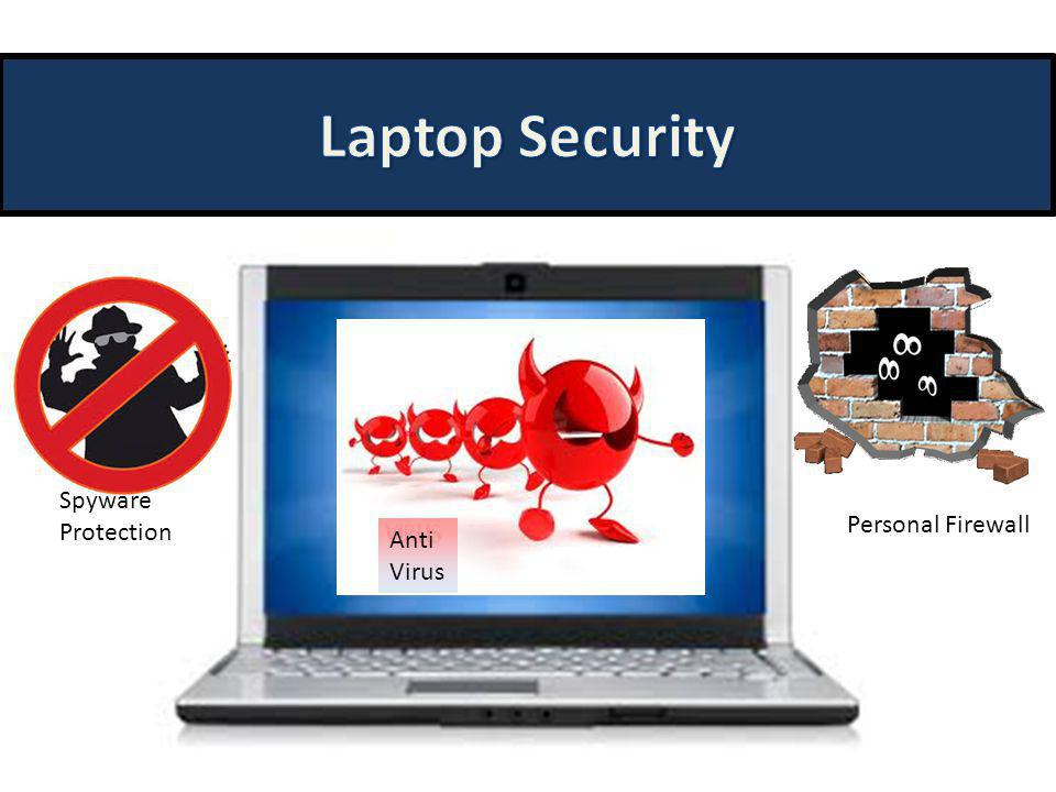 Laptop Security Spyware Protection Personal Firewall Anti Virus