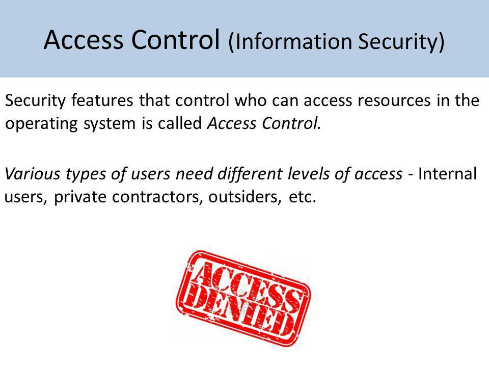 Access Control (Information Security)