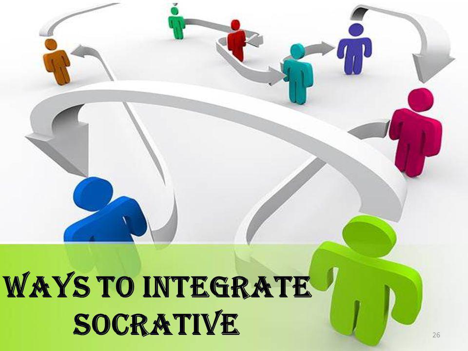 Ways to Integrate Socrative