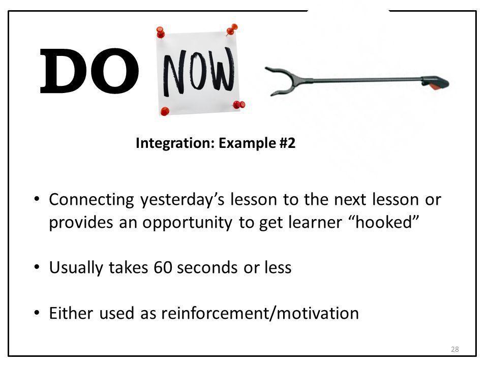 Integration: Example #2