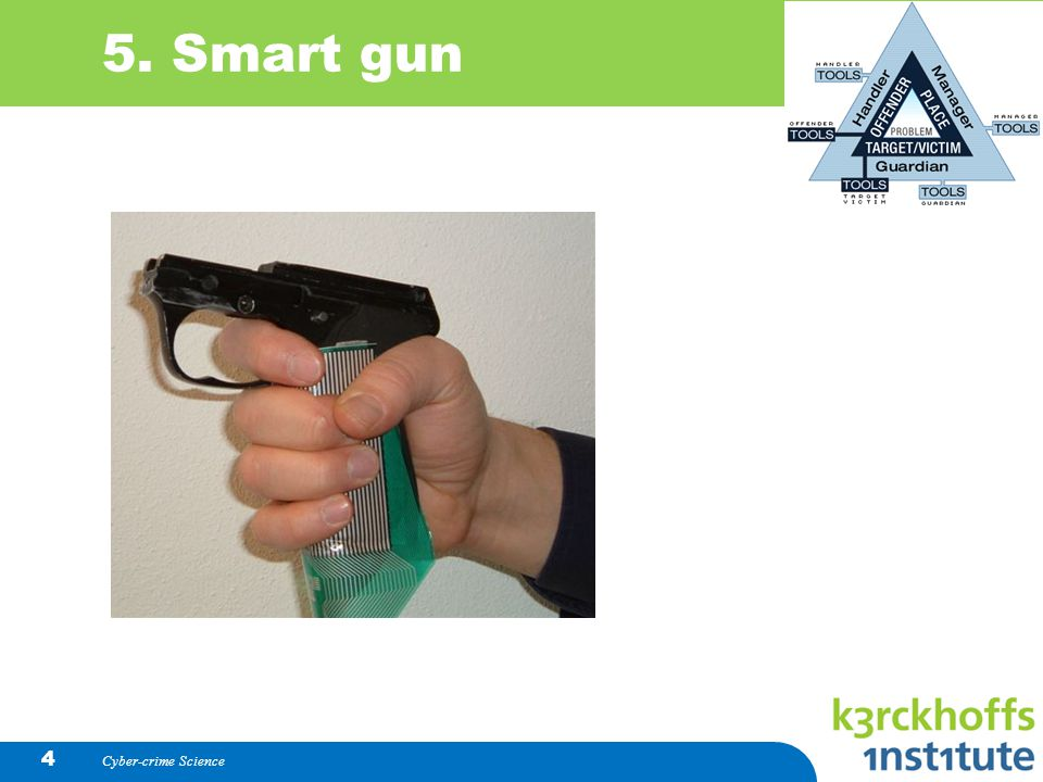 5. Smart gun Cyber-crime Science