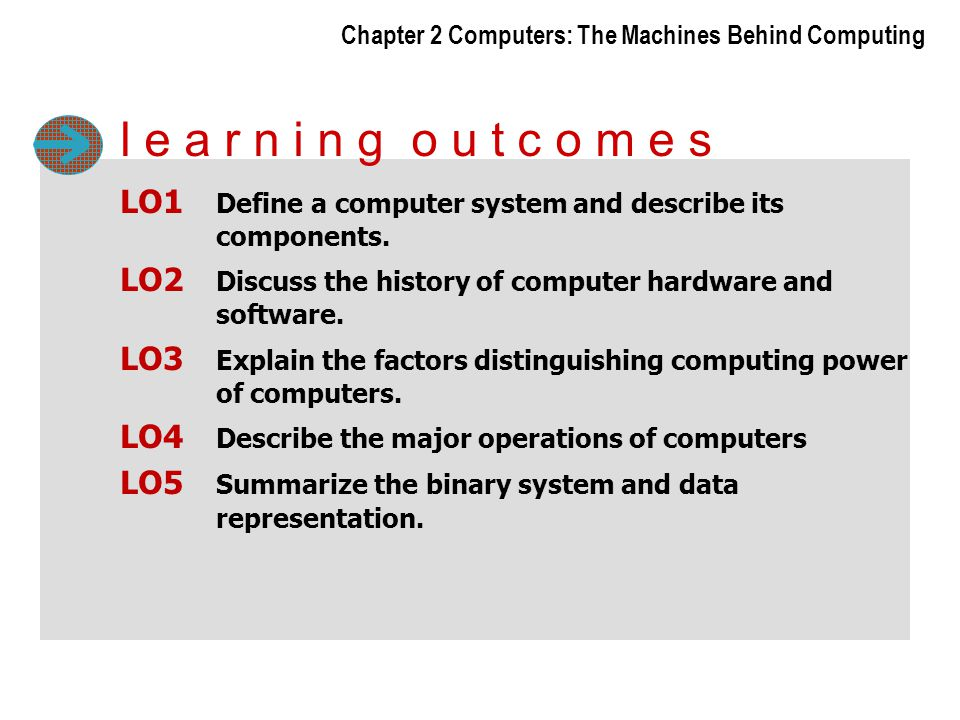 Chapter 2 Computers: The Machines Behind Computing