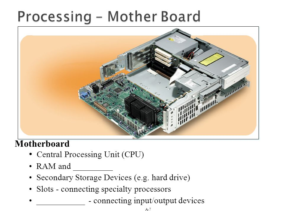 Processing – Mother Board