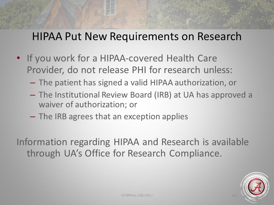 HIPAA Put New Requirements on Research