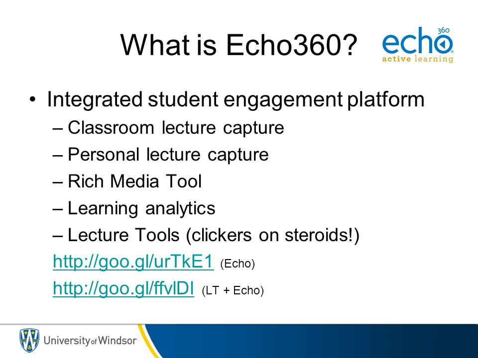 What is Echo360 Integrated student engagement platform