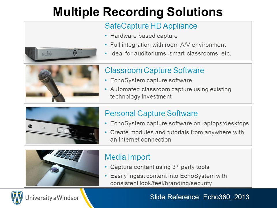 Multiple Recording Solutions