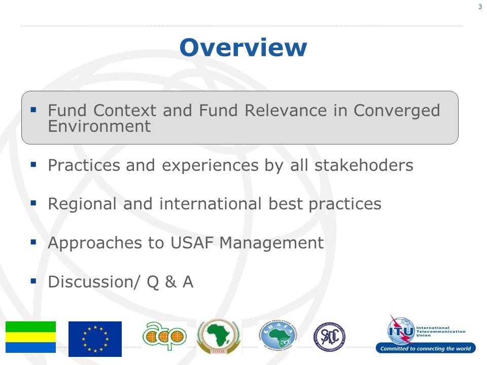 Overview Fund Context and Fund Relevance in Converged Environment