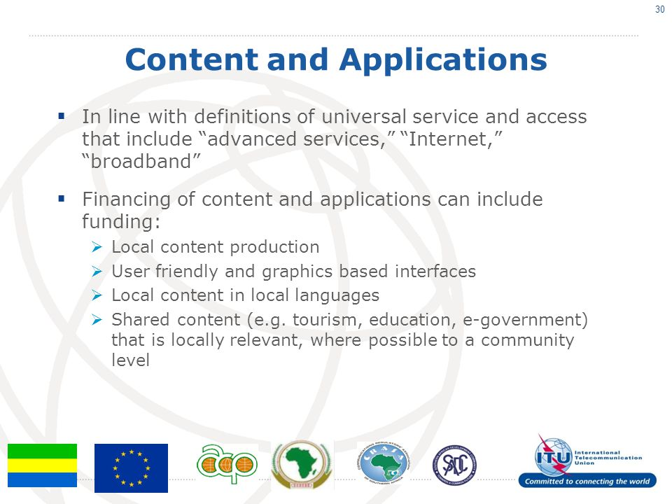 Content and Applications