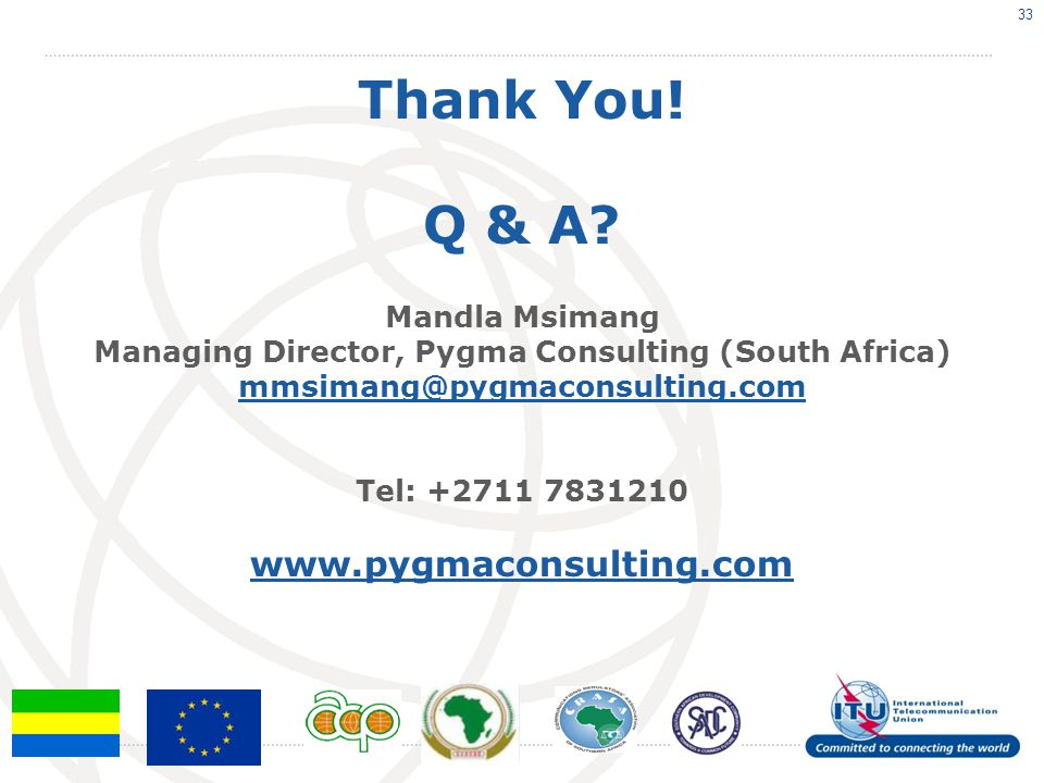 Managing Director, Pygma Consulting (South Africa)